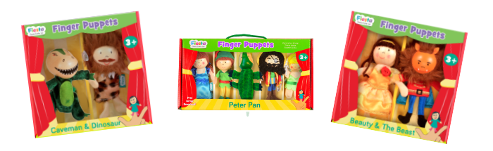 beauty and the beast stick puppets