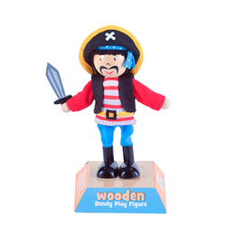Stripes Pirate Play Figure