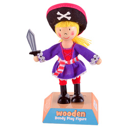 Girl Pirate Play Figure