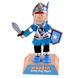 Blue Knight Play Figure