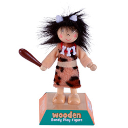 Cave Woman Play Figure