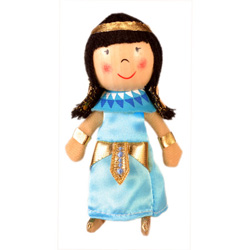 Cleopatra Finger Puppet