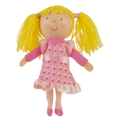 Goldilocks Finger Puppet
