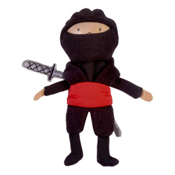 Red Ninja Finger Puppet