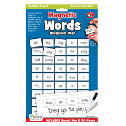Magnetic Words & Board - Reception Year