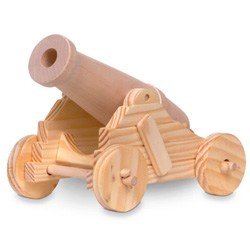 Wooden Cannon Craft Kit