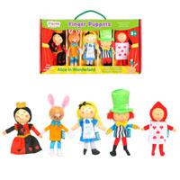 Alice in Wonderland Set (5) -