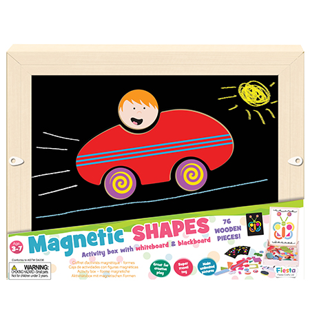 Magnetic Shapes Activity Box -