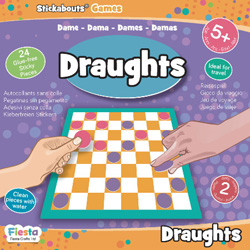Draughts - Stickabouts® Game
