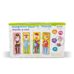 Magnetic Mix & Match - Animals at work