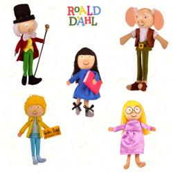 Roald Dahl Finger Puppet set (5)