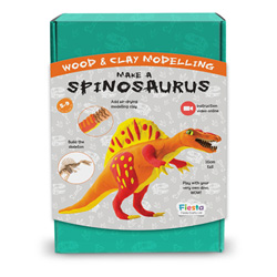 Wood & Clay Kit - Make A Spinosaurus