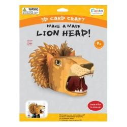 Lion 3D Mask Card Craft
